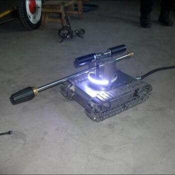 油烟管道清洗机器人