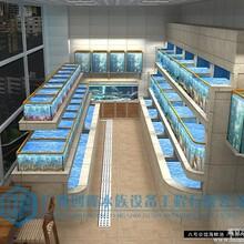 三亚海鲜池制作,海南省海鲜池,超市海鲜池,超市鱼缸图片