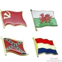 国旗徽章制作,金属国旗会徽制作,国旗胸牌制作,国旗胸针定做