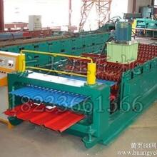 860/850水波纹双层彩钢板压型设备