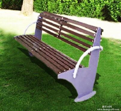 林休闲椅/户外公园座椅/实木休闲椅天格TG-A05/庭院花园椅_小区 园