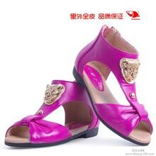 童皮鞋男童单鞋女童凉鞋软底防滑小螺号童鞋图片