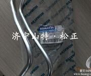 晋城小松挖掘机配件PC400-8喷油泵油管,原装高压油管图片