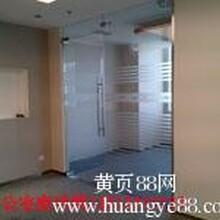 北京酒店玻璃贴膜旋转门贴防撞条