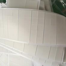 供应单面附3M透明硅胶垫正方形硅胶垫