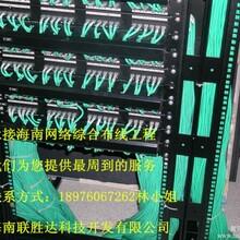 海口光纤熔接,文昌综合布线施工价格贯通理想安全永远