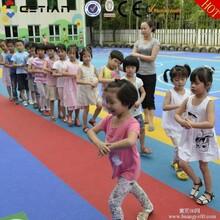 幼儿园新型室外游乐园彩色安全地垫