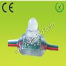 LED方形外露穿孔灯12mm方形全彩外露灯串穿孔字灯串发光字灯打孔字