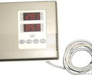 墙挂智能温湿度控制器图片