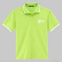 2014新款T恤,夏季翻领T恤,男女通穿T恤,均码广告衫图片