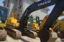 超好二手沃尔沃210B进口挖掘机上海龙瑞二手工程设备公司直销
