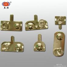 五金弹片厂家供应充电弹片弹簧片加工定制选展翔五金厂图片