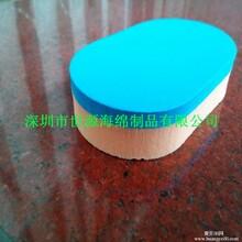深圳加工胶皮清洁棉套胶清洁棉胶皮海绵擦图片