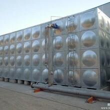 优惠供应太阳能热水工程不锈钢热水箱,保温水箱图片
