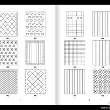 南通绗缝设备花样本花型册制作印刷