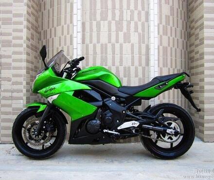 川崎ER 6F价格川崎踏板摩托车报价川崎公路赛车报价摩托车图片 -摩