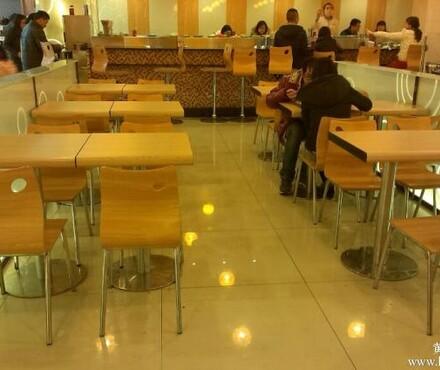 中式快餐桌椅,甜品店桌椅,曲木连体餐桌椅,西餐厅卡座桌,串串香
