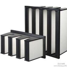 汕尾厂家直销铝框玻纤高效过滤器,H13无隔板有隔板过滤器