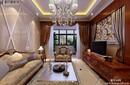 扬州明发江湾城两室两厅简欧风格装修效果图-扬州面对面装饰-一号家居网