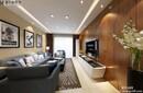 扬州明发江湾城116平现代简约装修效果图-扬州面对面装饰-一号家居网