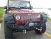 jeep牧马人车顶射灯加装,牧马人前档龙门架