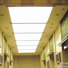 重庆巴南软膜天花灯膜材料安装图片
