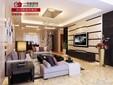 扬州和昌运河东郡三室现代简约装修效果图-扬州一号家居网/面对面装饰