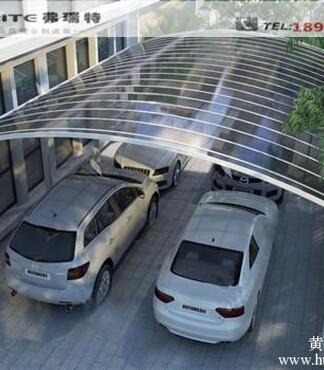 供应PC耐力板窗棚铝合金车棚露台棚自行车棚图片