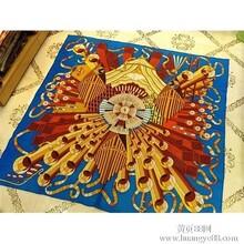 Hermes秋冬新款大方巾爱马仕100%羊毛大方巾延长号系列围巾