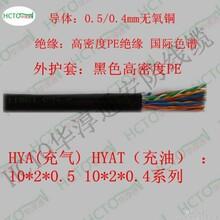 HCTO大对数通信电缆HYA20X2X0.5市内电话电缆电话线图片