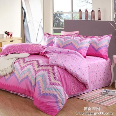 供应密恋家纺斜纹四件套床上四件套一件代发
