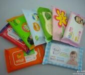 湿巾厂家婴儿湿巾OEM80片带盖湿巾代加工厂家