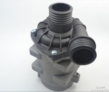 汽车电子泵,电动汽车发动机冷却水泵 深鹏高清图片