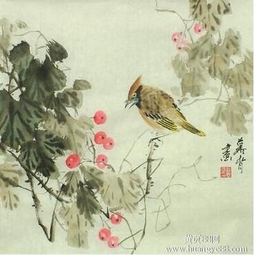 【现在山水花鸟画国内与香港海外市场价格对比】_黄页88网