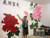 供应江西南昌手绘墙彩绘壁画
