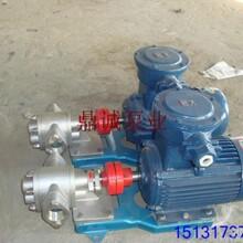可移动齿轮油泵KCB不锈钢齿轮泵图片