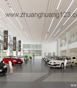 上海浦东汽车4S店装修设计 汽车4S店装潢 正州 -上海汽车4S店装修