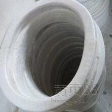 生产聚四氟乙烯包覆垫片DN15-DN3000夹石棉编织垫片,F4包覆三元乙丙橡胶垫片,F4包覆石棉板垫片。