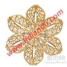 一流的铜首饰电镀珍珠金广东一流的铜首饰电镀珍珠金