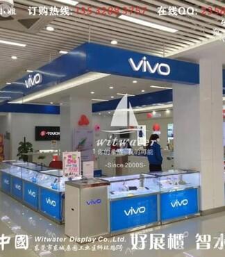VIVO旗舰店原装手机柜摆放 -VIVO原装柜