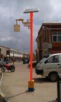 藏式太阳能路灯图片