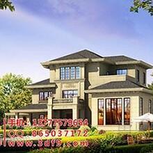 别墅外墙效果图设计制作,别墅庭院效果图设计,农村别墅设计