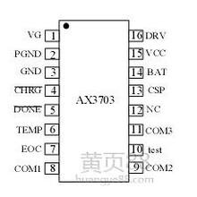 5A3节锂电池充电管理芯片IC-AX3703