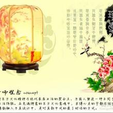 古香古色中国风中式台灯书房台灯卧室床头柜小台灯