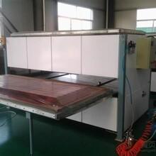 出厂价销售万恒钢板门木纹转印设备