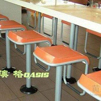 快餐桌椅/肯德基快餐吧台/快餐家具厂家