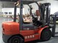 合力叉车H2000型可以进集装箱工作的刚使用现在急需处理