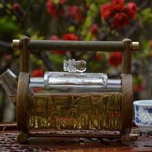 绿檀木茶具供应商/新奇特礼品茶具首选礼品