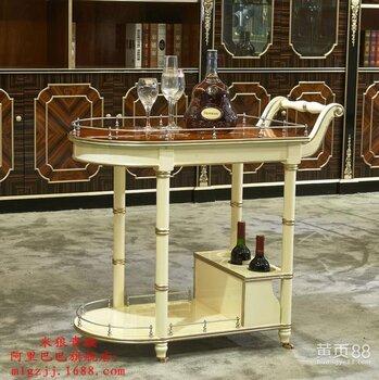 家具供应欧式高档餐厅套房餐车家具欧式高端别墅大小户型餐厅餐车家具