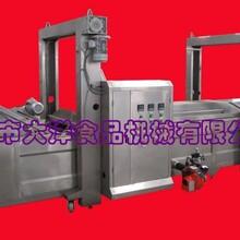 供应自动化薄脆油炸机大洋牌脆饼油炸线图片